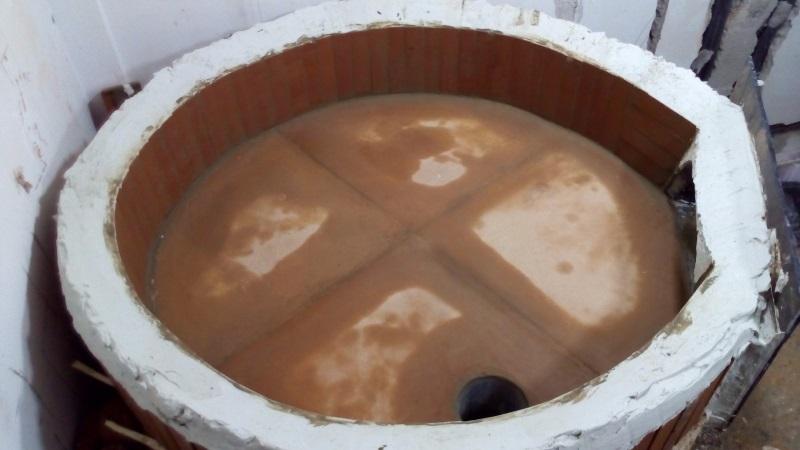 Modifica forno da legna a gas